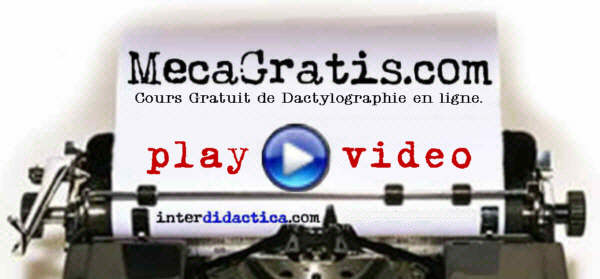 MecaGratis.com: Dactylographie gratuit